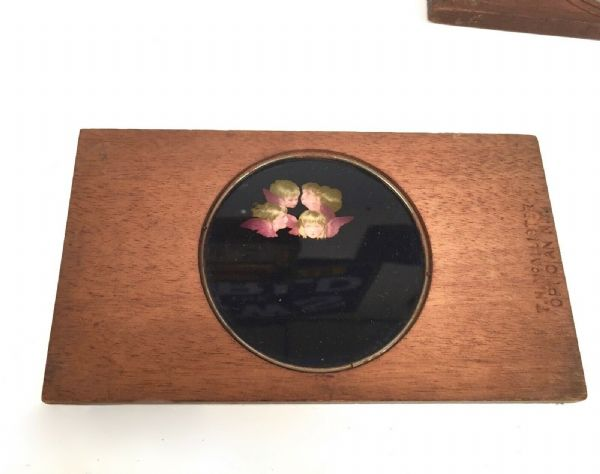 Antique Carpenter & Westley / T.H McAllister Magic Lantern Colour Slide Set